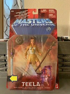 $35 • Buy 2001 Mattel Masters Of The Universe Teela 6 Inch Action Figure New On Card