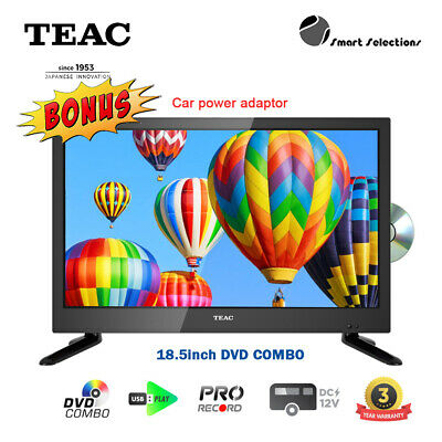 AU229 • Buy TEAC LEV19A121 All Ragion DVD Combo TV HDMI USB PVR 12V Caravan High Brightness
