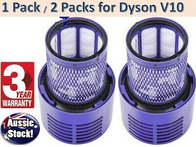 AU16.95 • Buy 2x Washable Hepa Filter For DYSON Cyclone V10 Animal Absolute Total Clean Vacuum