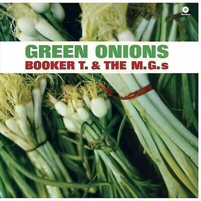 BOOKER T.AND THE M.G.S  GREEN ONIONS  (180g) BRAND NEW! STILL SEALED! (MINT) • 16.25£