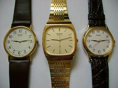 $ CDN75.77 • Buy Lot 3  Seiko Quartz,all New Battery And All Run And Keep Time