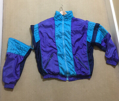 Vintage Shell Suit Track Top • 59£