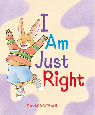 I Am Just Right [Board Book] By David McPhail • 6.34£