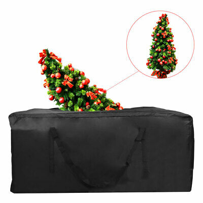 Christmas Tree Zip Up Storage Bag For Up To 7ft Trees Decorations Green Sack • 13.99£