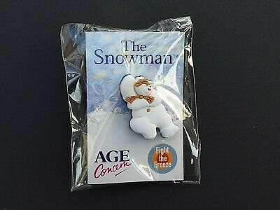 £5 • Buy The Snowman - Raymond Briggs - Age Concern Collectors Pin