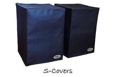 2 Dust Covers For A Pair Of Tannoy Reveal 501A 5-inch Active Monitor Speakers • 36.24£