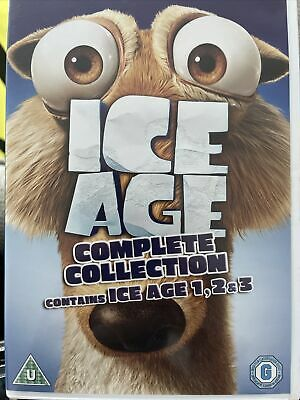 Ice Age 1-3 Collection (DVD, 2009, 3-Disc Set, Box Set) - Preowned • 0.99£