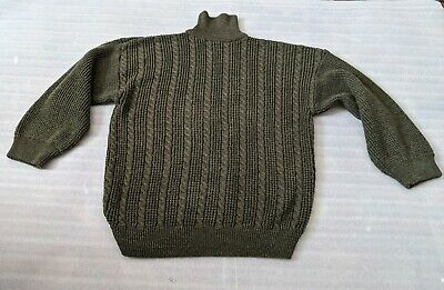 $9.99 • Buy Military Army Moss Green Sweater Size M