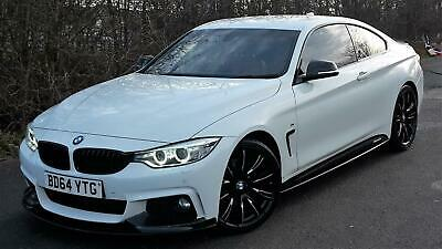 Gorgeous 2014 Bmw 4 Series 2.0 D 420d M Sport Coupe 188 Bhp Diesel /px • 14,450£
