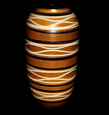 West German 546-52 Scheurich  Fat Lava Floor Vase   • 74.99£