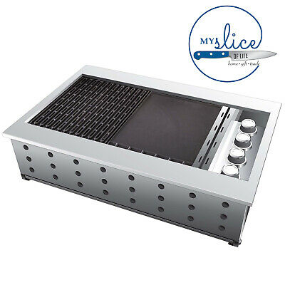 AU1799.09 • Buy Gasmate Orion 4 Burner Flush Mount Drop-In BBQ