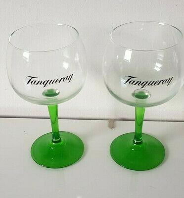 2 X TANQUERAY GIN  Balloon Copa Glasses New • 17.99£