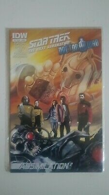 Star Trek The Next Generation/doctor Who : Assimilation # 5 Of 8 - Idw Comics  • 5.95£