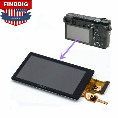$ CDN55.13 • Buy NEW LCD Display Screen Monitor Repair Part For Sony Alpha A6500 ILCE-6500 Camera