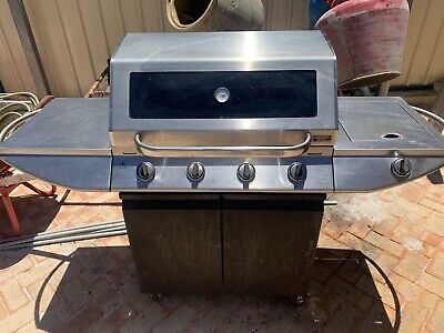 AU285 • Buy Cordon Bleu 4 Burner BBQ With Side Burner