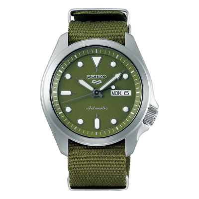 $ CDN248.86 • Buy Seiko 5 Sports 40mm SS Green Dial And Nylon Strap Automatic Watch - SRPE65K1