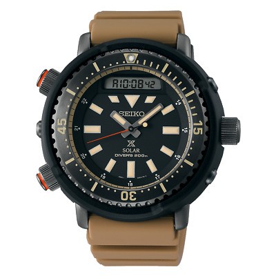 $ CDN496.33 • Buy Seiko Prospex Street Series Arnie Urban Spirit 47.8mm Khaki Strap Watch SNJ029P1