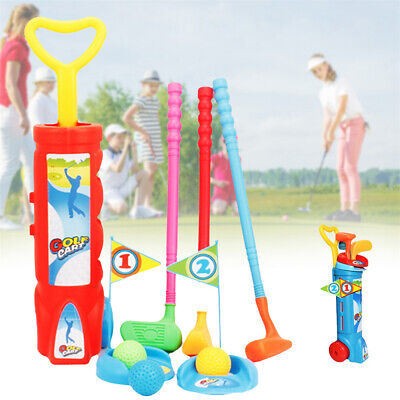Kids Children Golf Training Set For Outdoor Sports Fitness Exercise Toy UK • 8.93£