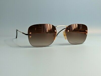 £64.73 • Buy Vintage Rodenstock Rimless Gold Plated Sunglasses Made In Germany #958