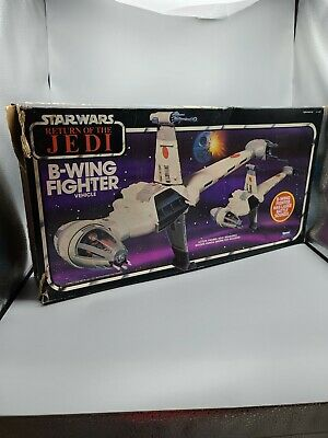 $ CDN107.57 • Buy 1984 Kenner STAR WARS Original Vintage ROTJ B-WING BOX ONLY POP Intact