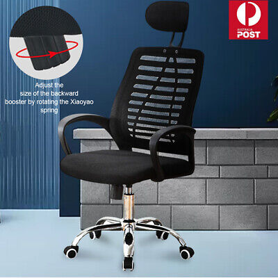 AU48.29 • Buy Ergonomic Executive Office Computer Chair Breathable Mesh Cushions Support Seat