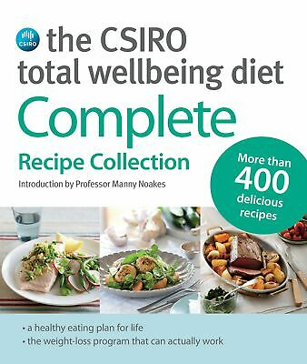 AU138.99 • Buy The CSIRO Total Wellbeing Diet: Complete Recipe Collection - Lose Weight NEW AU