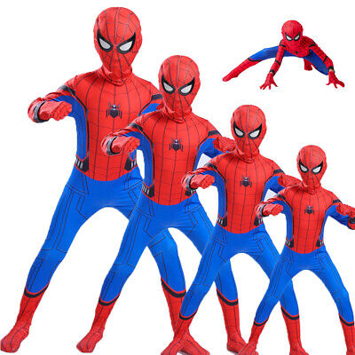 £5.99 • Buy Child Superhero Fancy Dress Boys Kids Cosplay Spiderman Costume Party Outfits