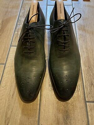 Russell And Bromley (Moreschi) Lace Up Mens Shoes Size 10 • 85£