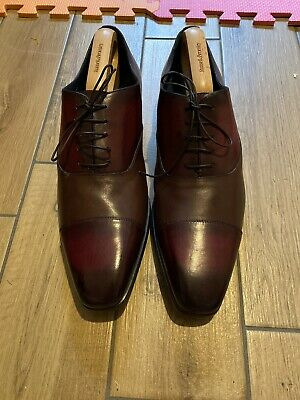 Russell And Bromley Moreschi Lace Up Shoes Mens Size 10 • 150£
