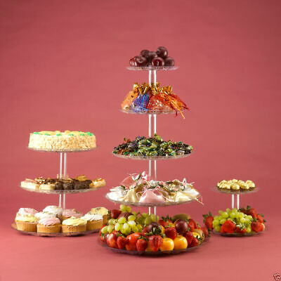 £17.33 • Buy 5 Tiers Cupcake Display Stand Fruit Food Tower For Wedding & Party