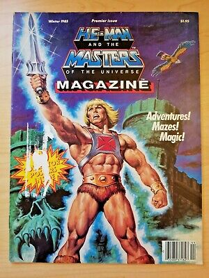 $74.99 • Buy He-Man And Masters Of The Universe Magazine #1 W/ 3 Posters (Winter 1985) MOTU