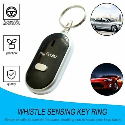 Whistle Lost Key Finder Find Key Location With Sound Control LED Torch Flash Uk • 2.10£