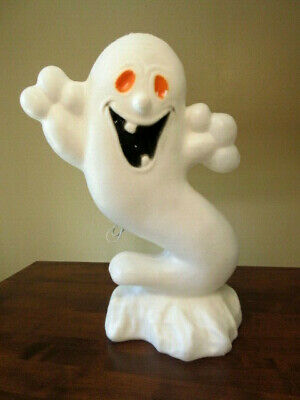 $ CDN30 • Buy Vtg  Drainage Industries  Halloween Lighted Boo Ghost Blow Mold -22-1/2  Tall