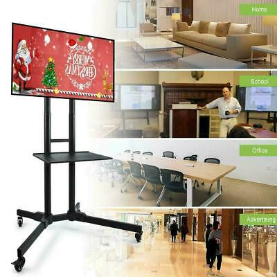 £46.45 • Buy Mobile TV Cart Floor Stand Mount Home Exhibition Trolley For 32 -65  Television