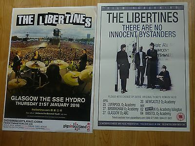 The Libertines - Collection Of UK Tour Live Music Show Concert Gig Posters X 2 • 7.99£