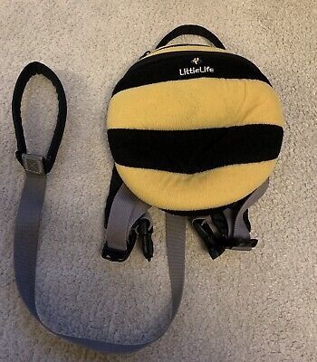 LITTLE LIFE Bee Backpack With Reins • 5£