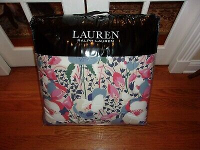 $ CDN354.47 • Buy NIP Ralph Lauren Sophie Floral Full/Queen Comforter & Shams Set 5pc