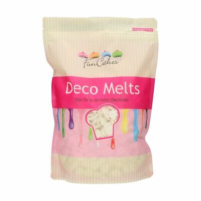 £16.99 • Buy Candy Deco Melts Buttons Cake Pop - Extreme White 1Kg