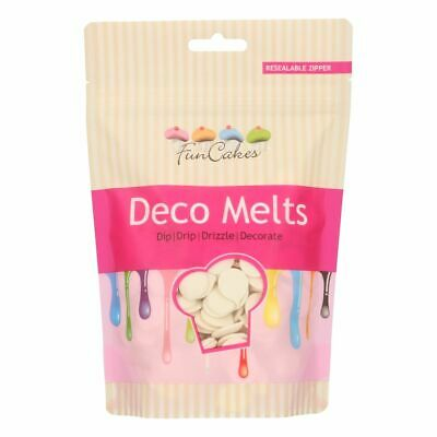Candy Deco Melts Buttons Cake Pop - Extreme White 250g • 6.99£