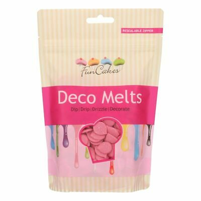 Candy Deco Melts Buttons Cake Pop - Pink 250g • 6.99£