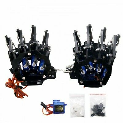 Robot Mechanical Claw Clamper Gripper Arm Five Fingers Right+Left Hand Assembled • 149.99£