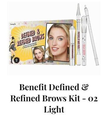 £22 • Buy  Benefit Defined & Refined Brows Kit - 02 Light RRP £31.50