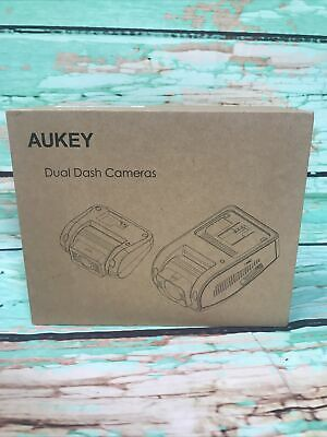 AU127.87 • Buy AUKEY Dual Dash Cam DR02D 1080P Front Rear 6-Lane Wide-Angle Brand New