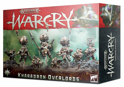 AU90.71 • Buy Warcry Kharadron Overlords Warband NEW IN BOX Warhammer Age Sigmar Dwarves Dwarf