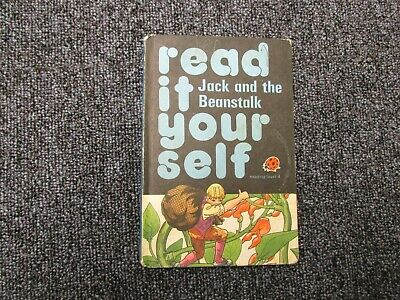 Vintage Ladybird Book Jack And The Beanstalk Read It Yourself • 1.99£