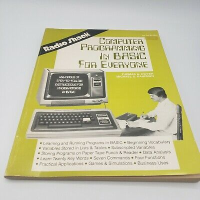 £10.73 • Buy COMPUTER PROGRAMMING IN BASIC FOR EVERYONE Dwyer Radio Shack Instruction Book