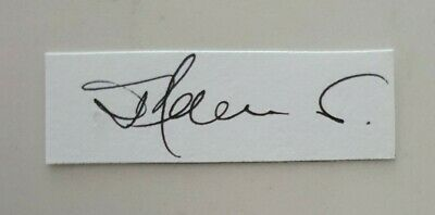AU5.62 • Buy Jimmy Adams Cricket Signed In Person Neat Cut Card West Indies Captain Great