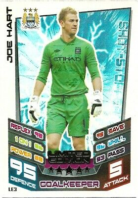 £1.95 • Buy Match Attax Extra 2012/13 Joe Hart Limited Edition Le3