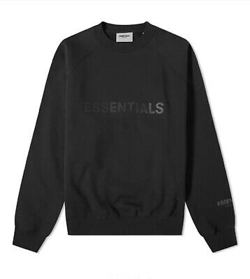 Fear Of God ESSENTIALS Crew Sweet Stretch Limo - Small • 135£