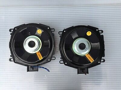 BMW F25 F26 F15 F16 Under Seat Subwoofers Central Bass Speakers X3 X5 X6 9247484 • 185£